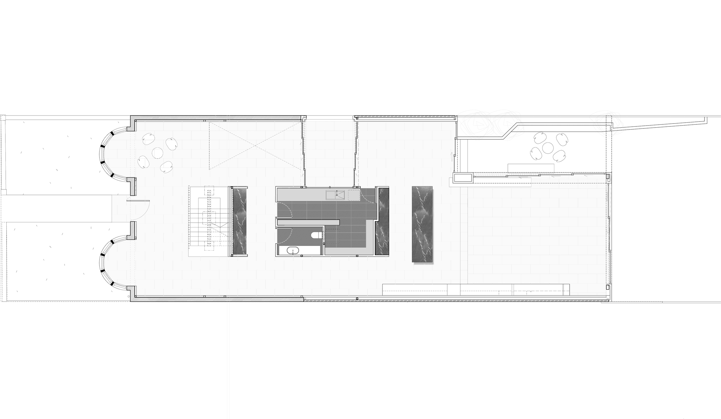 middle park house plan by chamberlain Architects