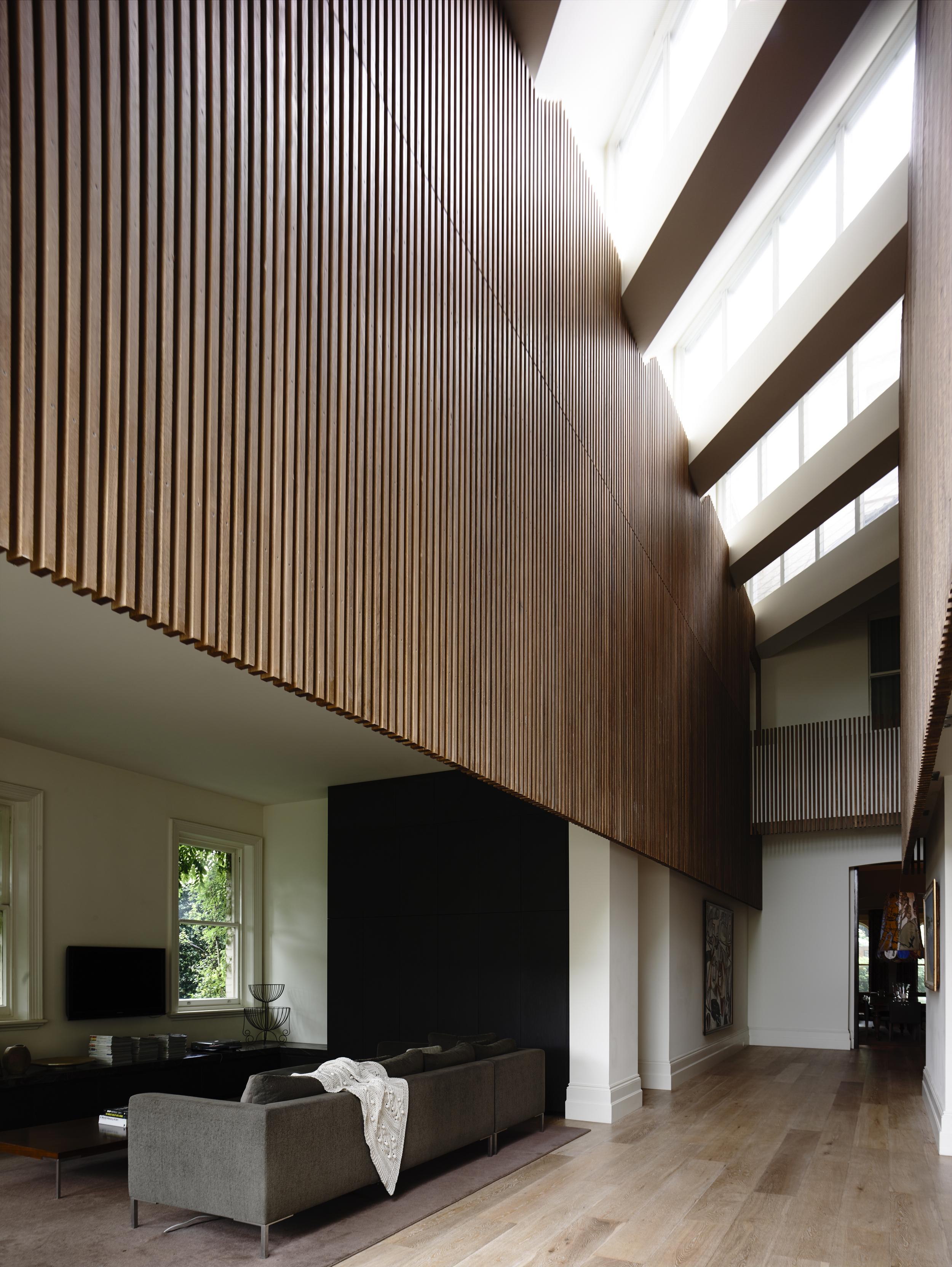 St Kilda house interior by Chamberlain Architects