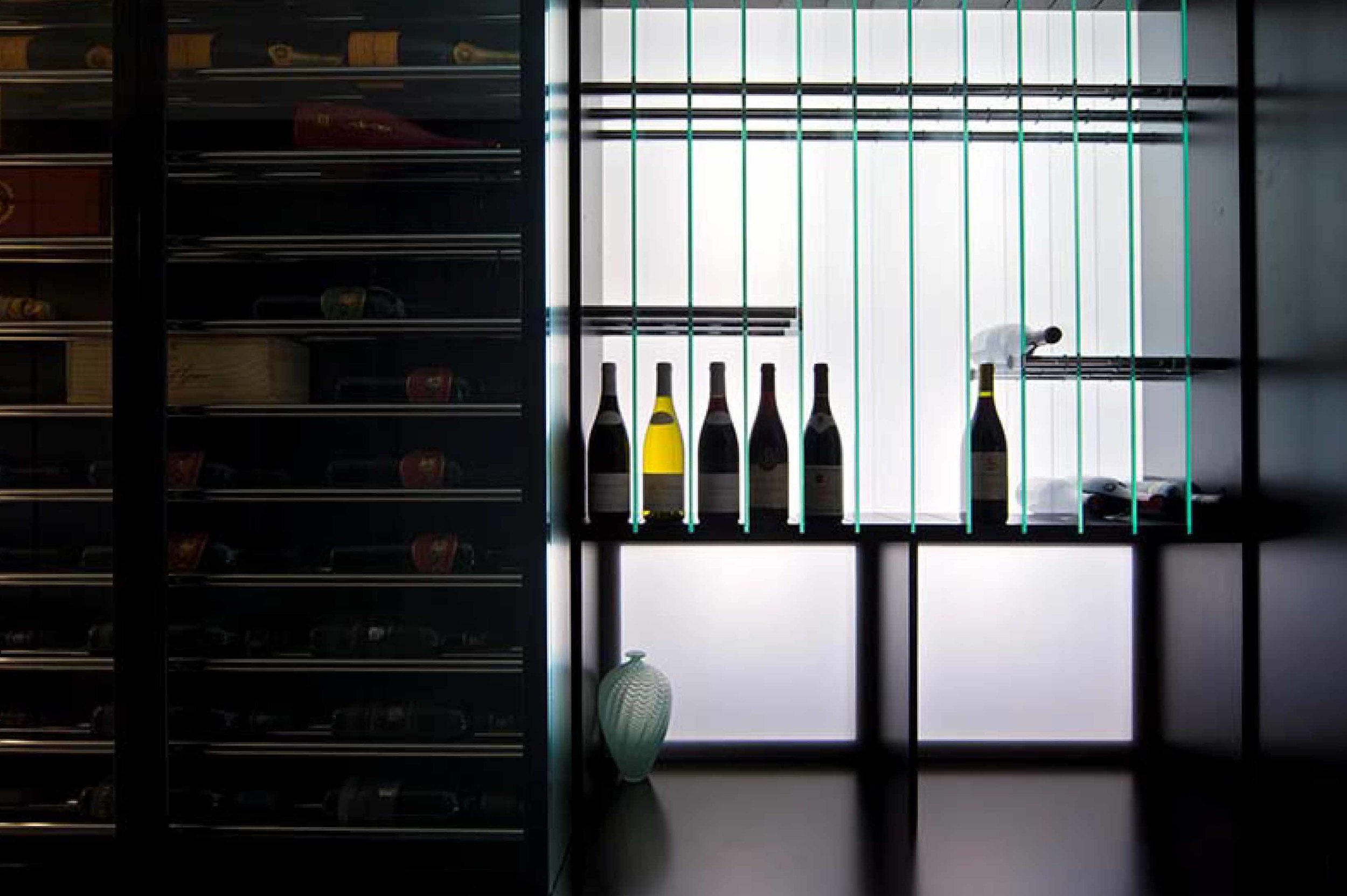 Middle Park cellar by Chamberlain Architects