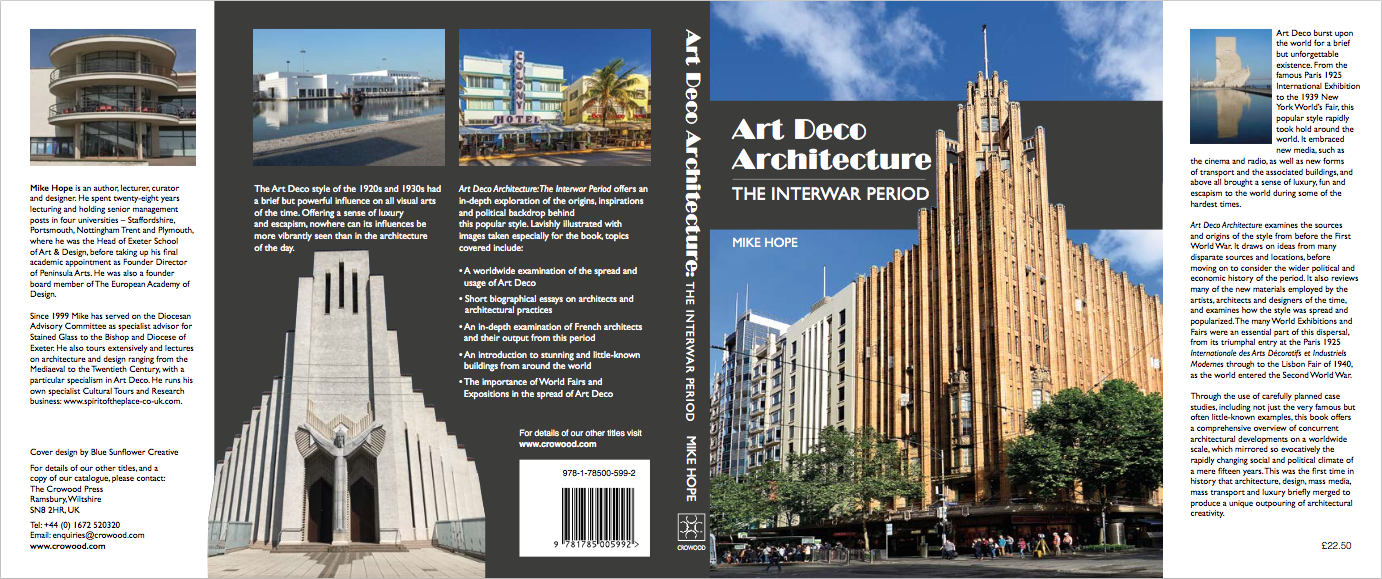 First view of the dustjacket for the book