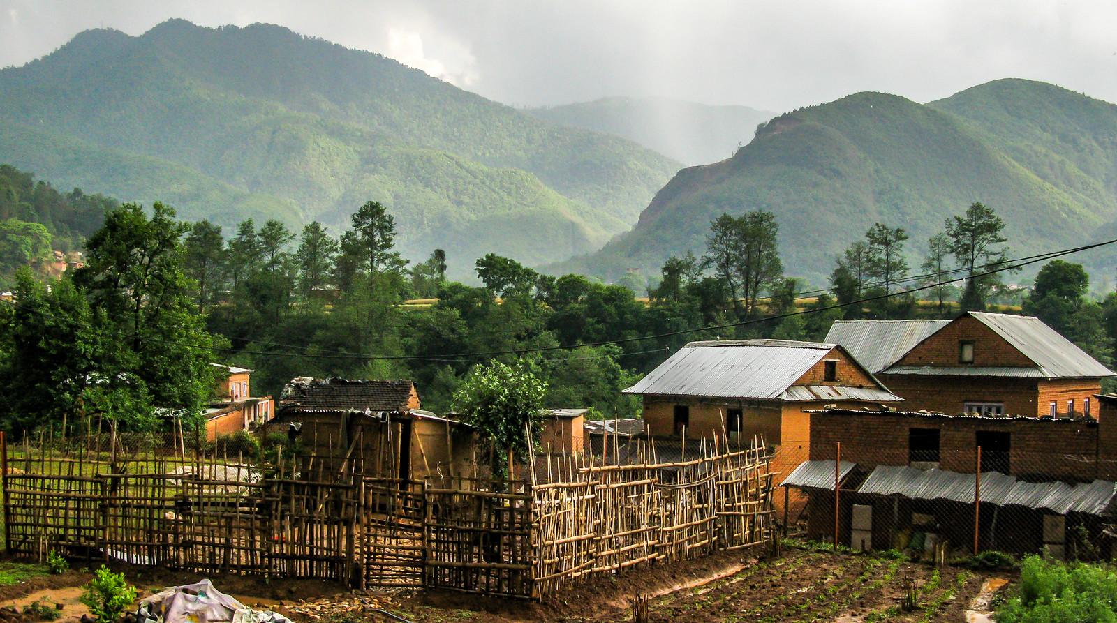 Village traditionnel Népalais