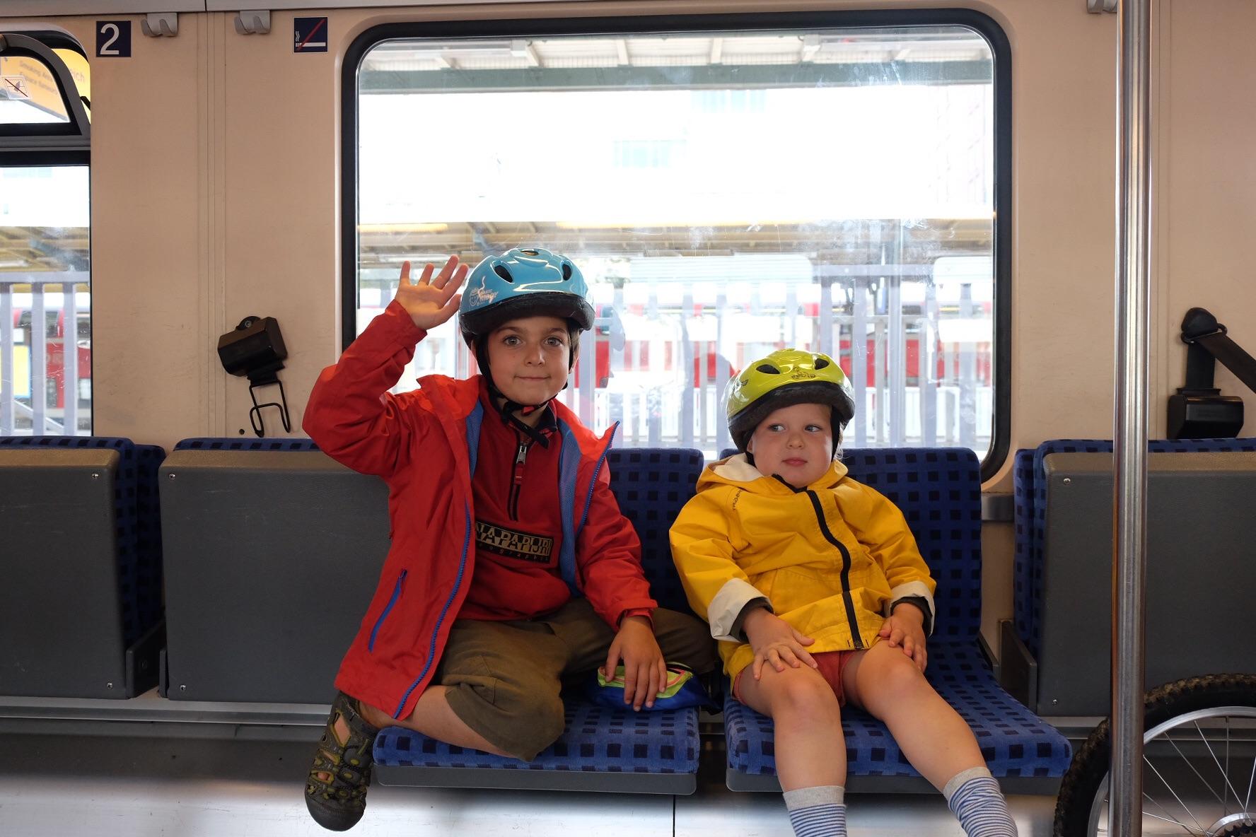 Dans le train direction Ulm