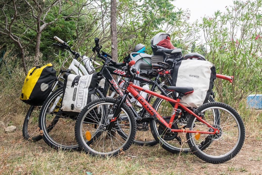 Vélos et sacoches