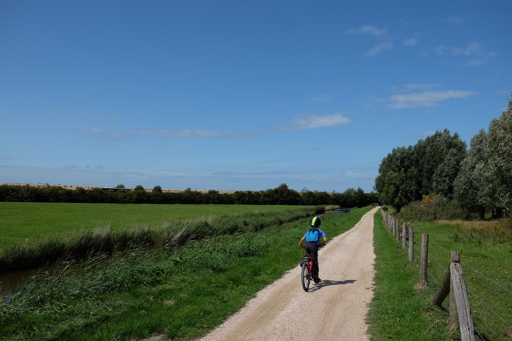 Bravo à Willem, champion de vélo !