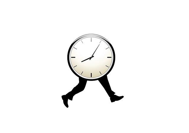 Walking clock