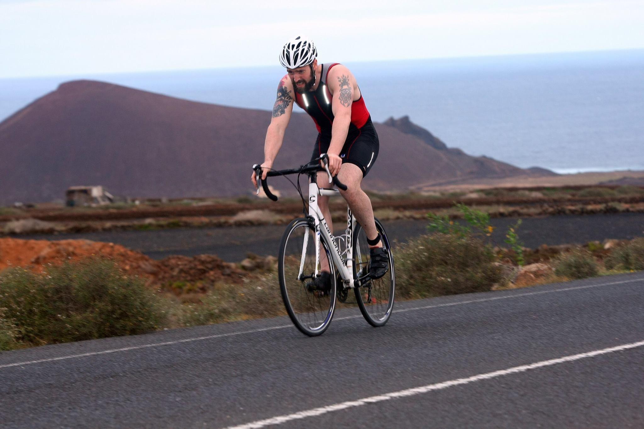 Lanzarote Triathlon - very hot, very windy, very hilly!