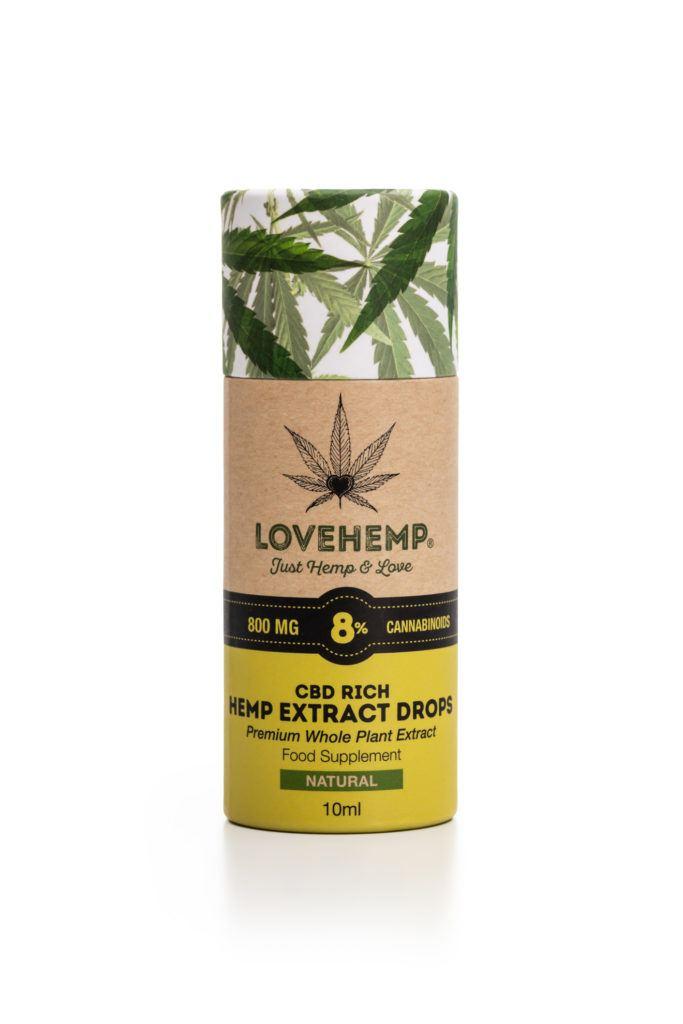 LoveHemp 8% CBD Oil