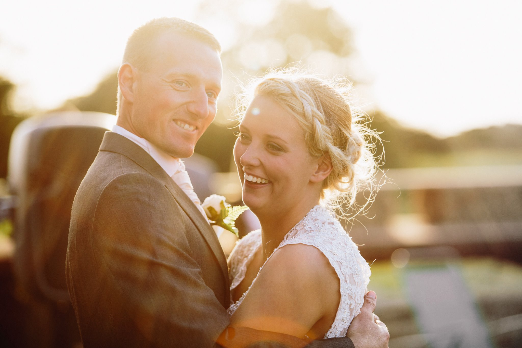 Golden hour golden light wedding photography Matt Herrington North West Wedding Photographer