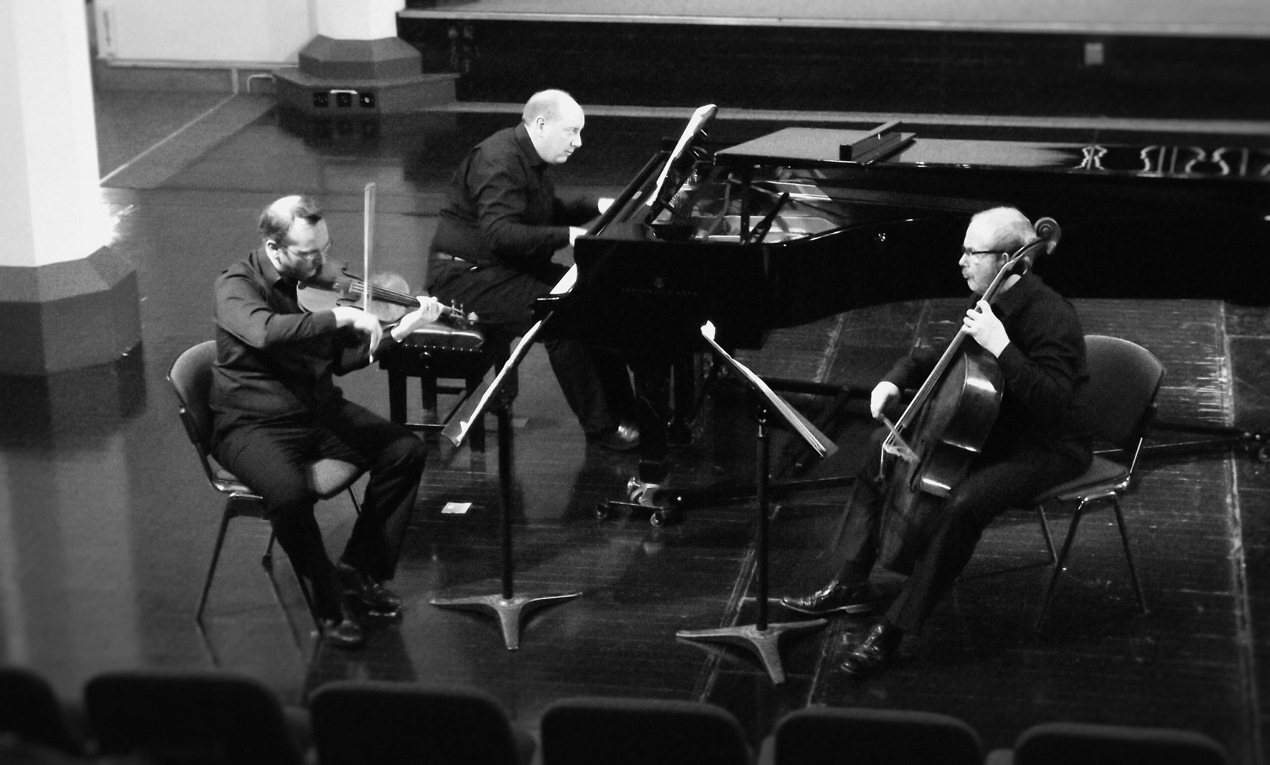 Meiningen Piano Trio at St Paul's Hall, Huddersfield, UK