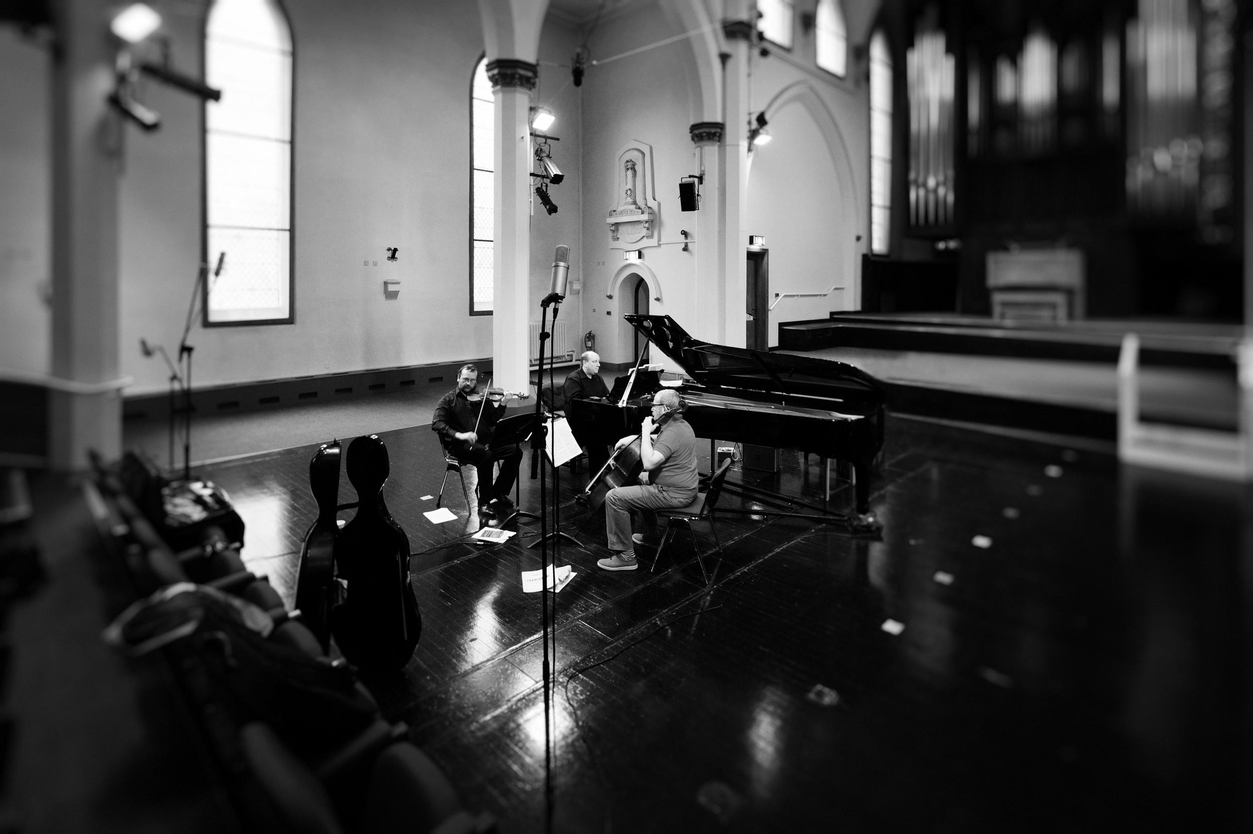 Meiningen Piano Trio at St Paul's Hall, Huddersfield. UK