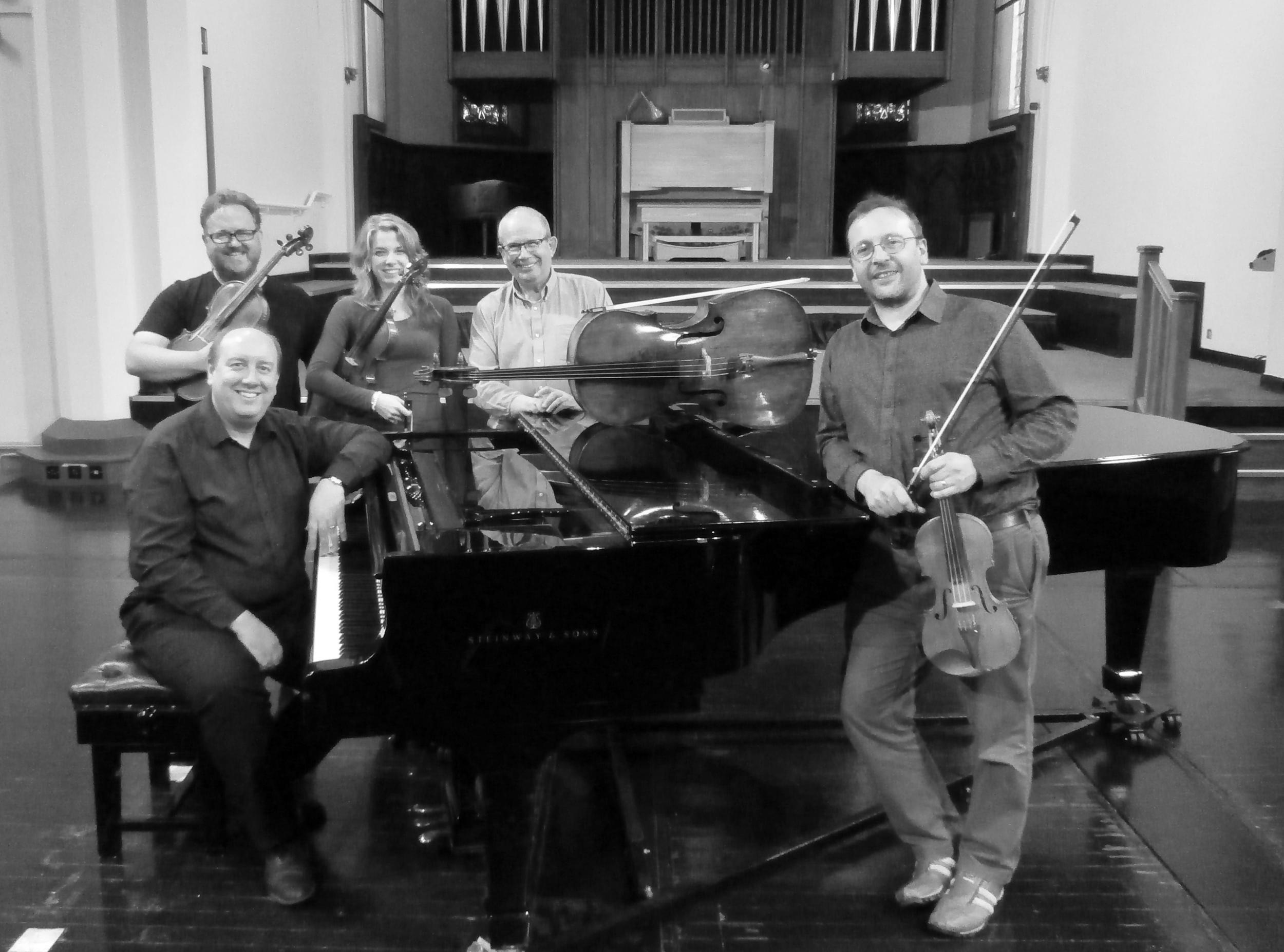 Meiningen Piano Quintet at St Paul's Hall, Huddersfield, UK