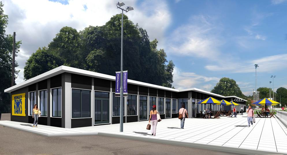Proposed redevelopment of the clubhouse