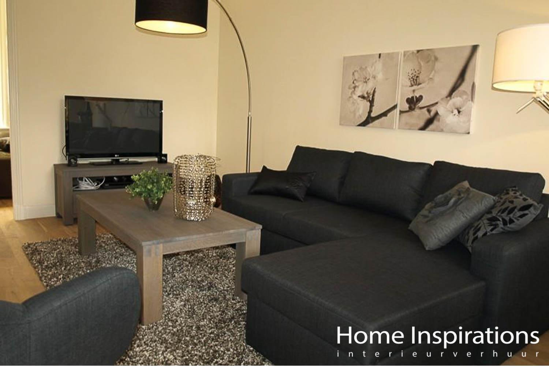 Zithoek woonkamer moderne stijl