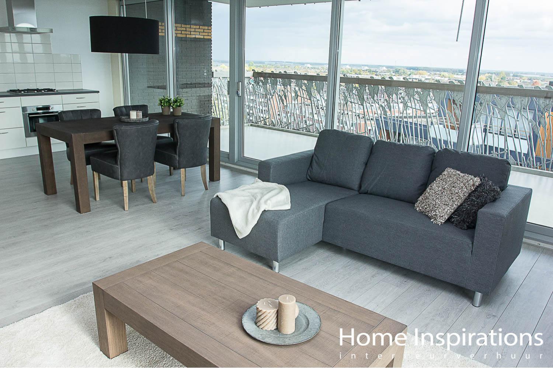 Zithoek moderne stijl licht appartement