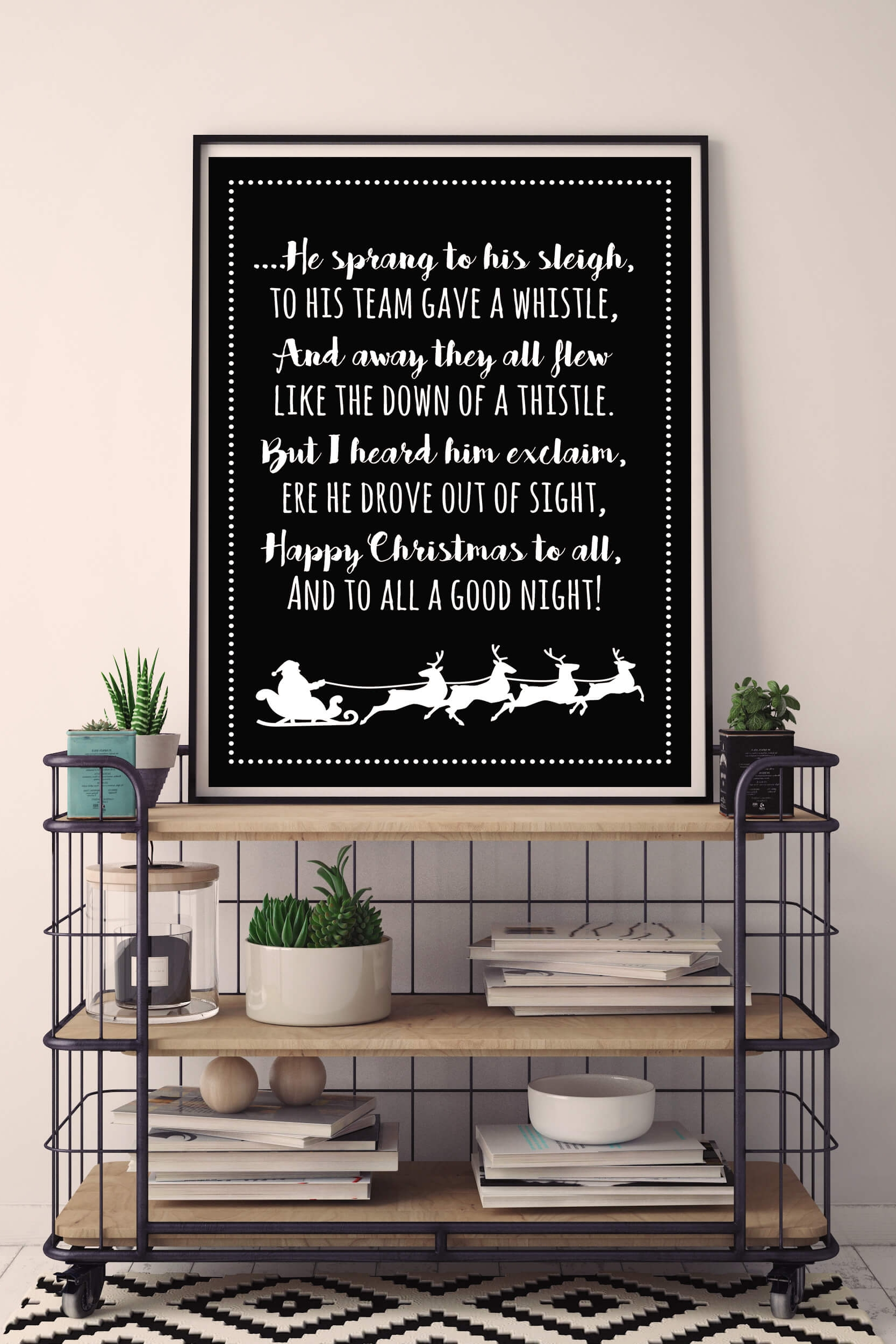 mock up frame bakkerskar met kerstposter.jpg