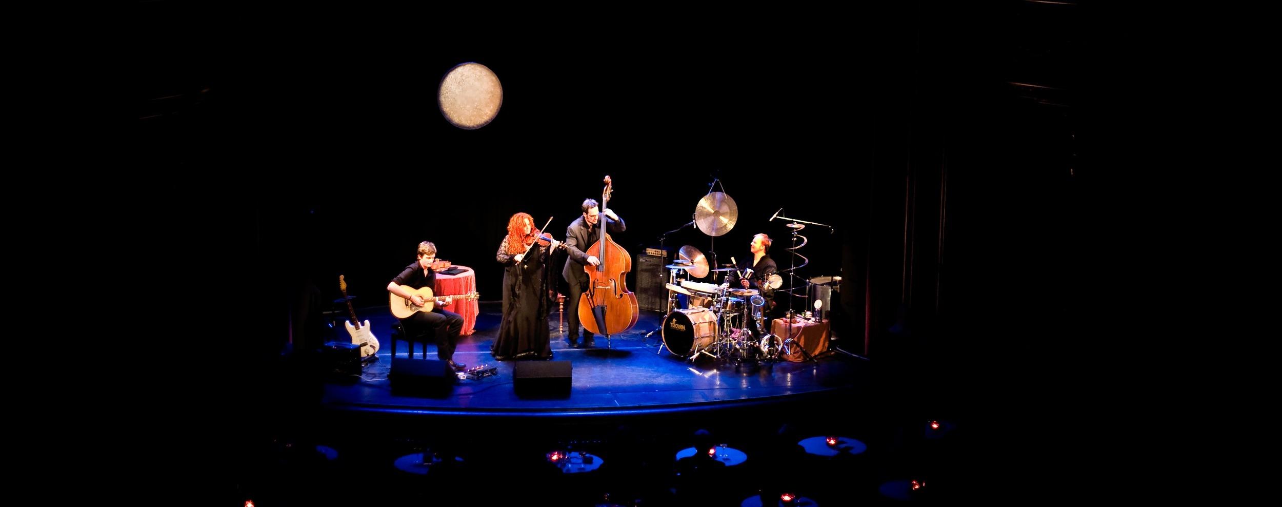 Martina Eisenreich Quartet (live). Fotography by Mike Meyer.