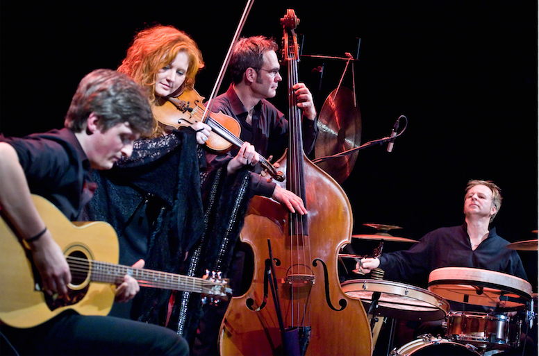Martina Eisenreich Quartet, live. Fotography by Mike Meyer.