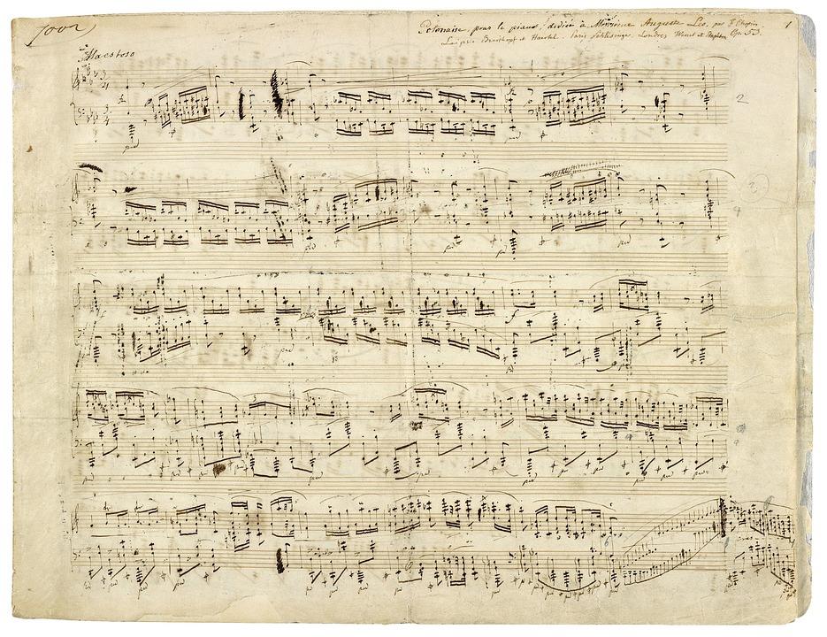 sheet music available: symphonic concert suite
