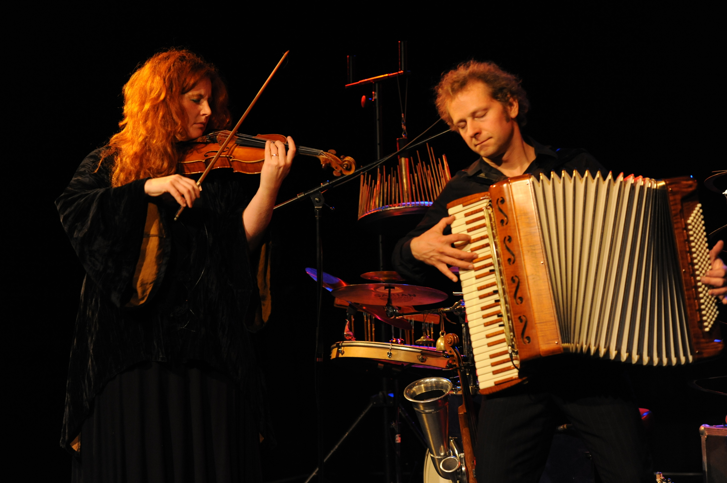 Martina Eisenreich & Andreas Hinterseher (live), Photography by Yakup Zeyrek