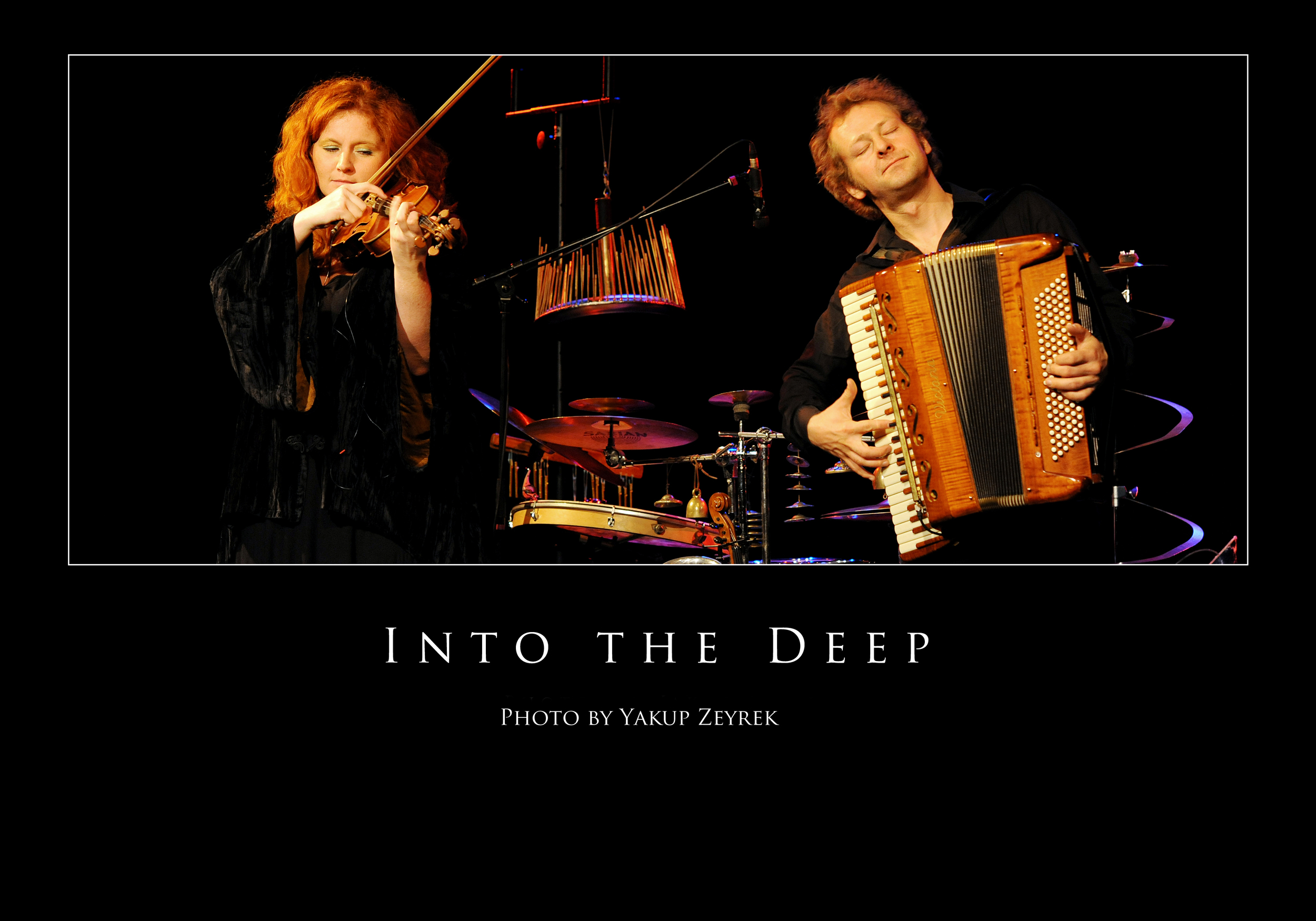 """Martina Eisenreich & Andreas Hinterseher: """"Into the deep"""". Photography by Yakup Zeyrek"""