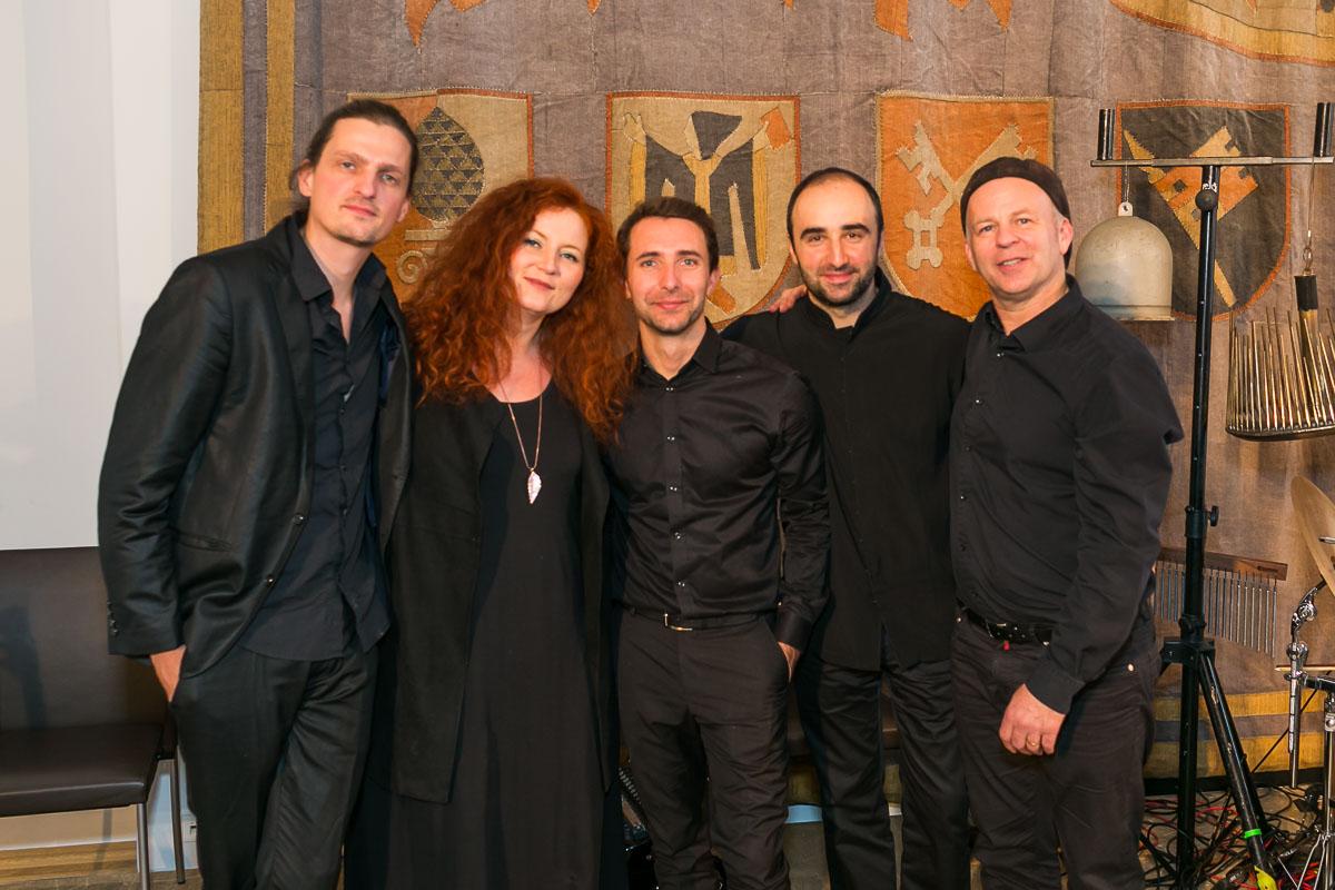 Martina Eisenreich Quintett, 2016. Fotography by Andreas Schebesta