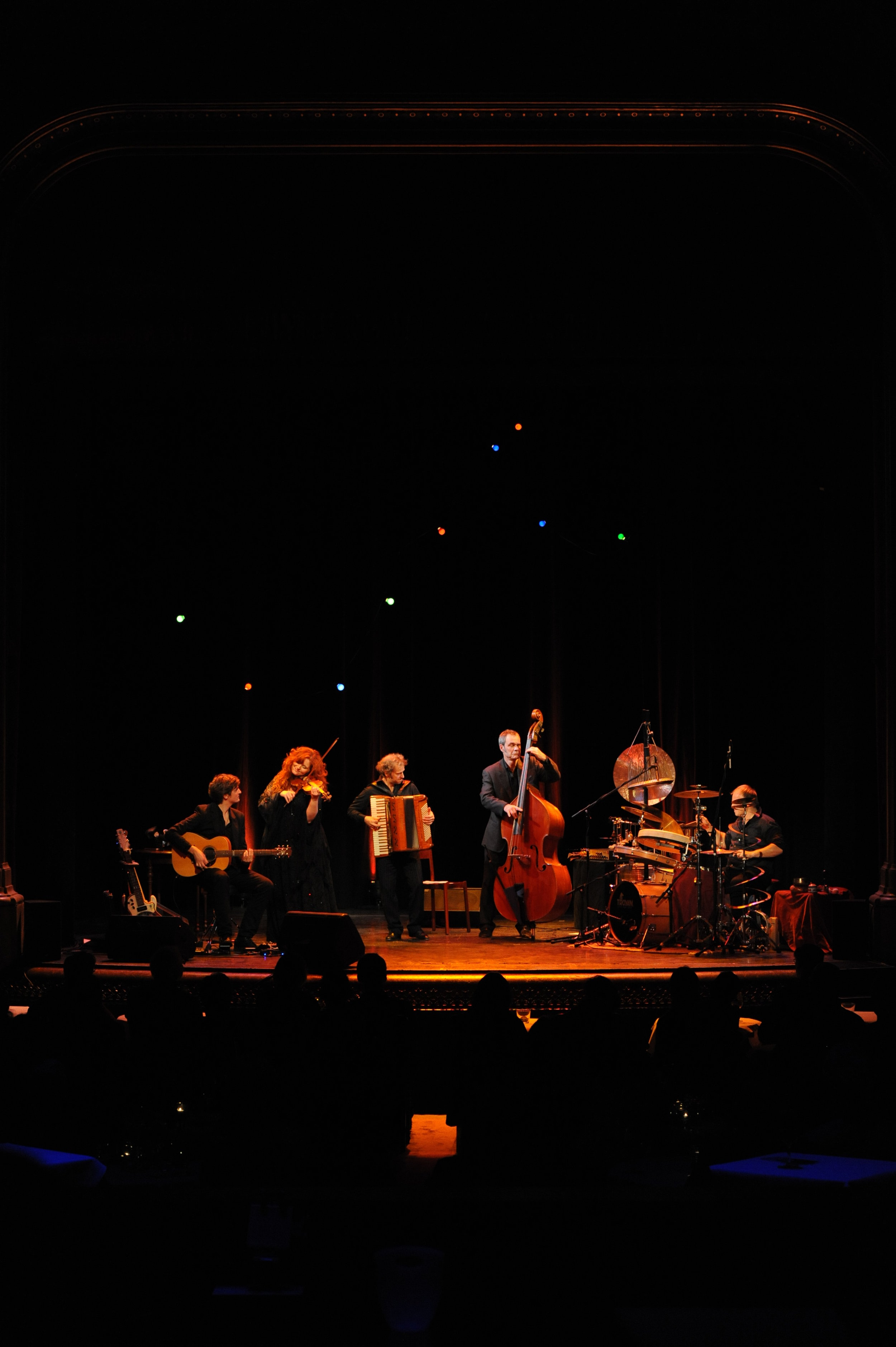 Martina Eisenreich Quintett live (3). Fotography by Mike Meyer. (Print Resolution)