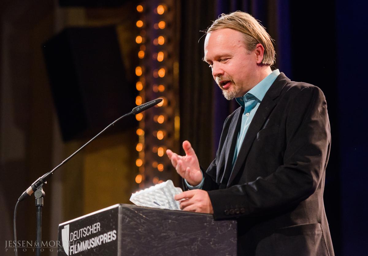 Ralf Wienrich – Preisträger BESTE MUSIK im FILM. Foto:  deutscherfilmmusikpreis.de , ©Jessen Mordhorst