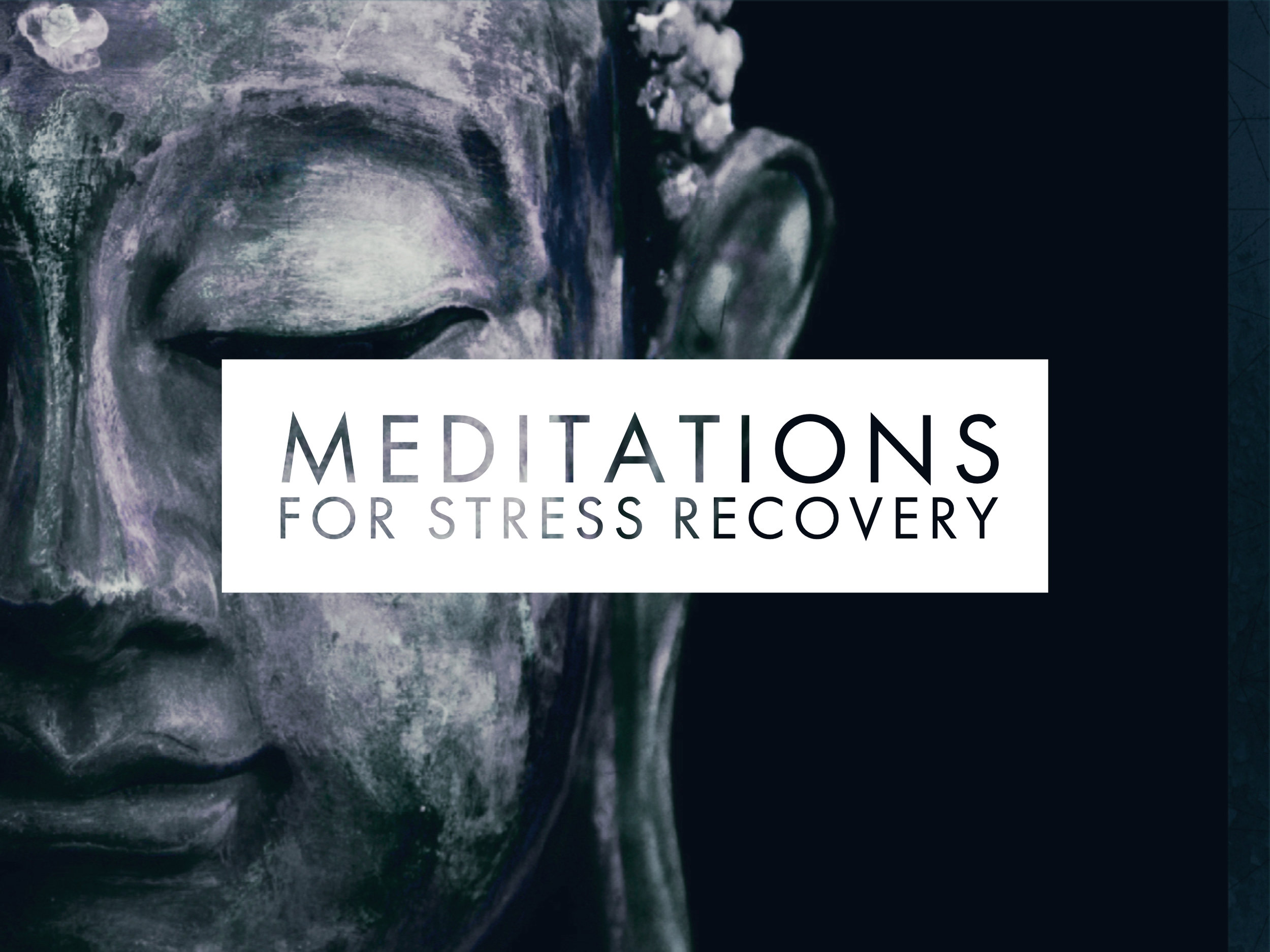 EVERYDAY MEDITATIONS FOR STRESS & OVERWHELM - ONLINE COURSE
