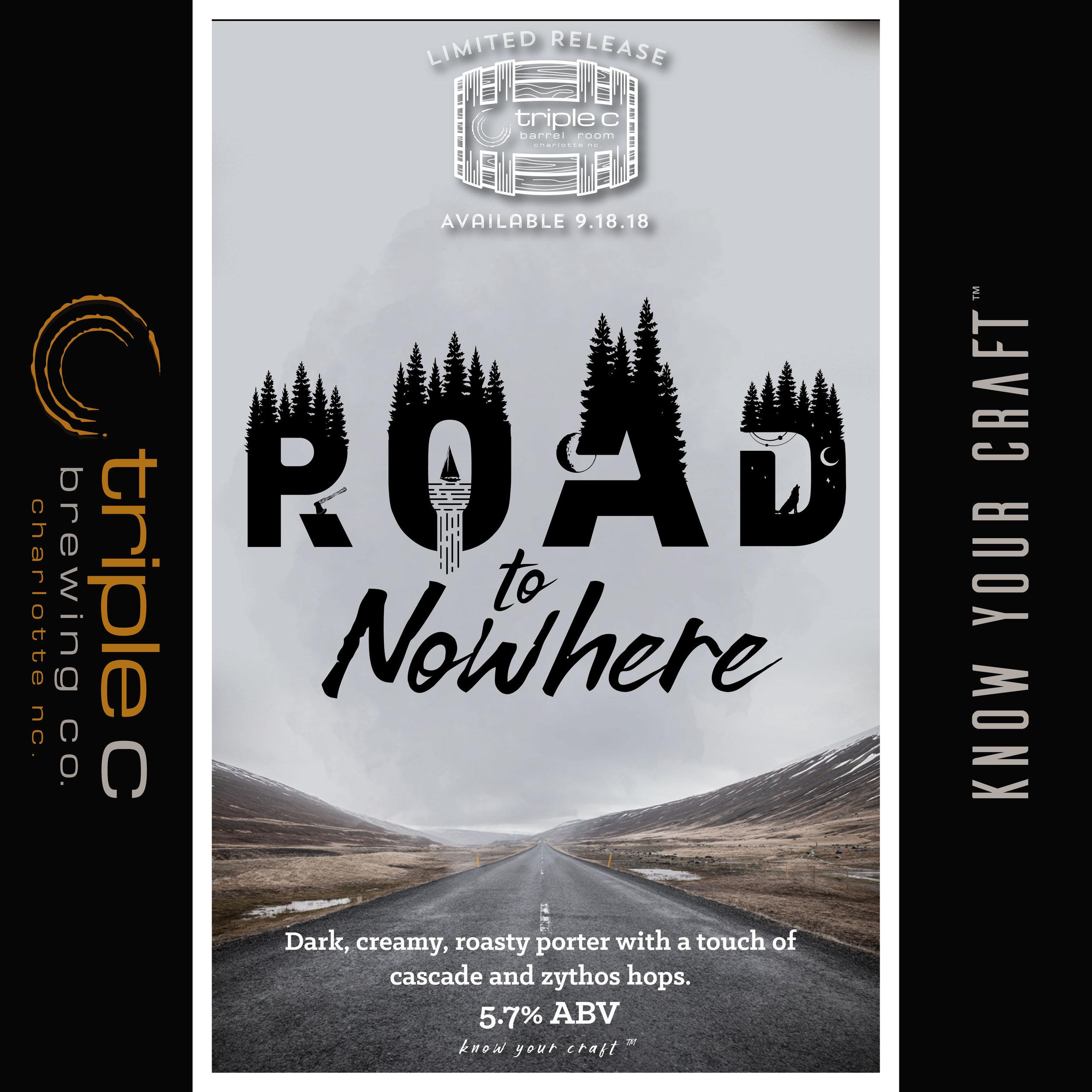 Charlotte's original Road to Nowhere!