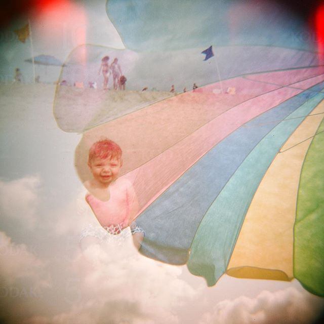 Oh, hi baby Henry 😍 #holga #doubleexposure #statefilmlab #lbi #lehighvalleyphotographer ❤️