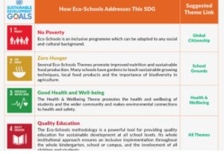 Eco-Schools and the Sustainable Development Goals