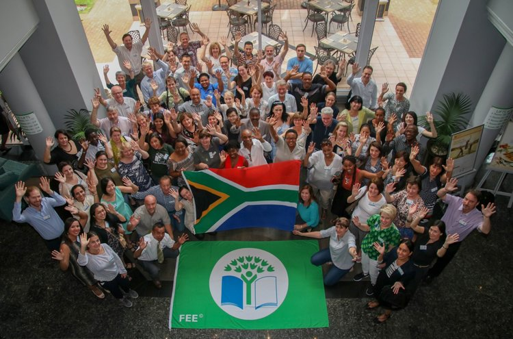 Eco-Schools National Operators' Meeting held in Johannesburg, South Africa