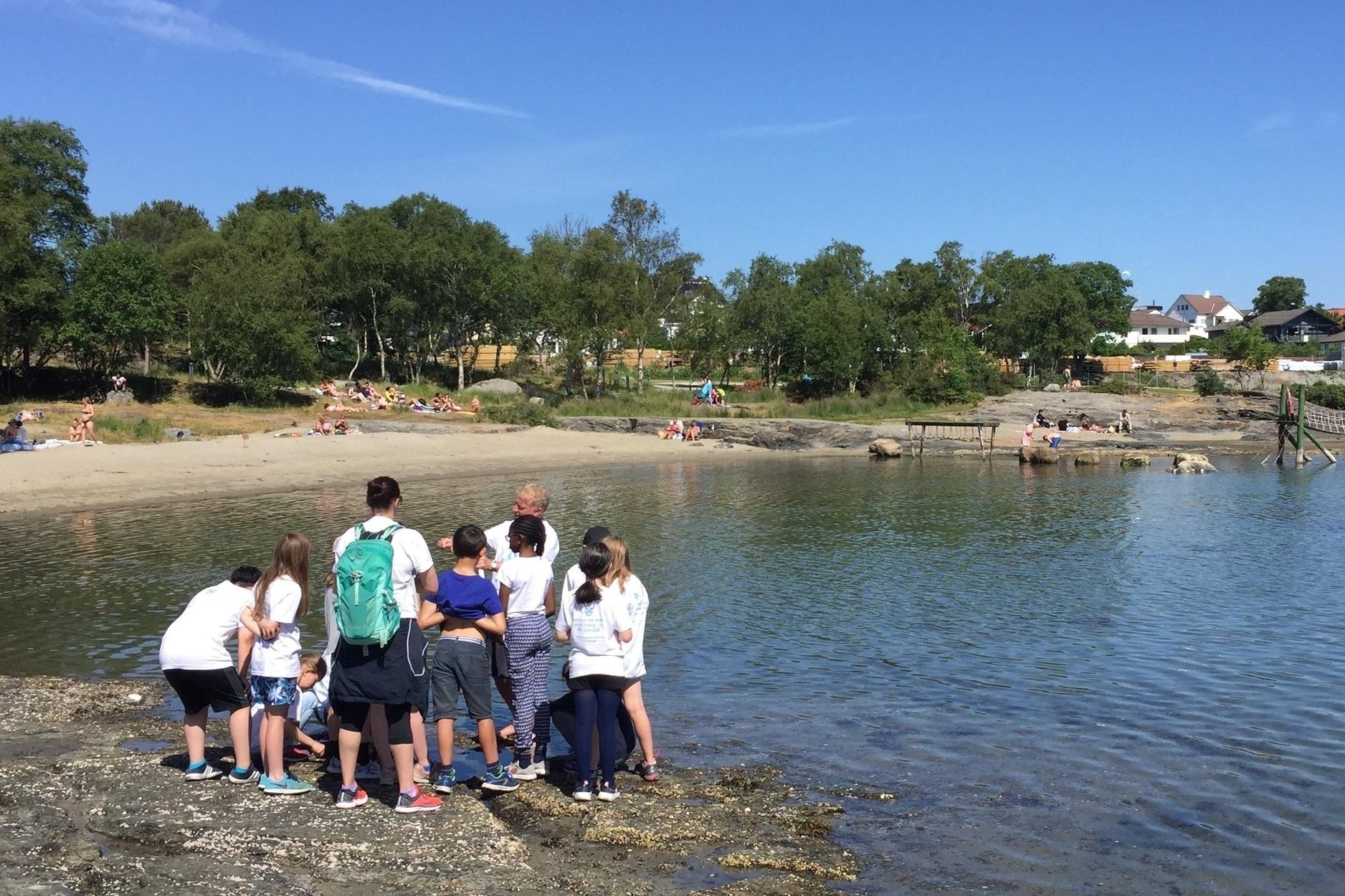 Teach on the beach!