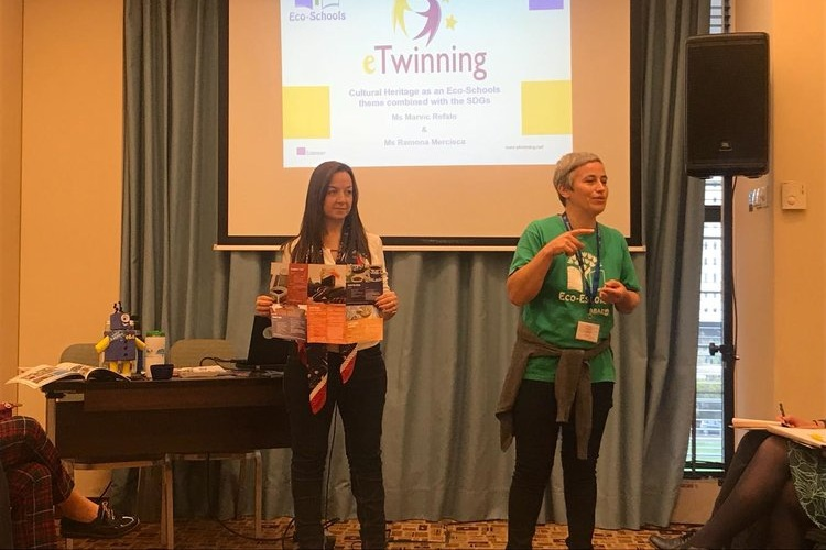Discussing Cultural Heritage at the eTwinning Conference 2018