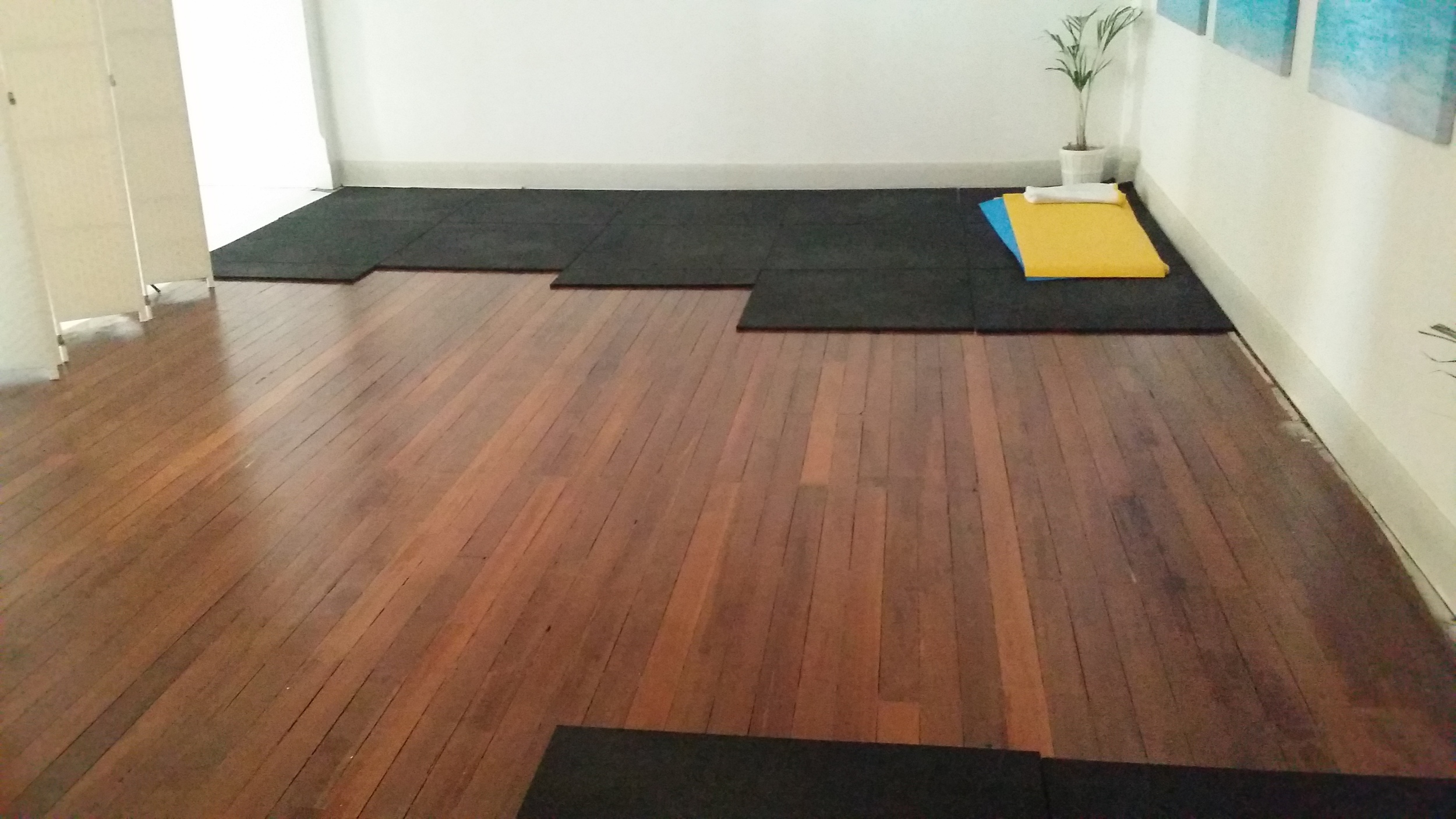 Moov Personal Training Adelaide: Old Studio space about to become new gym space
