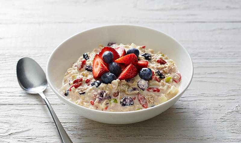 bircher muesli recipe healthy breakfast