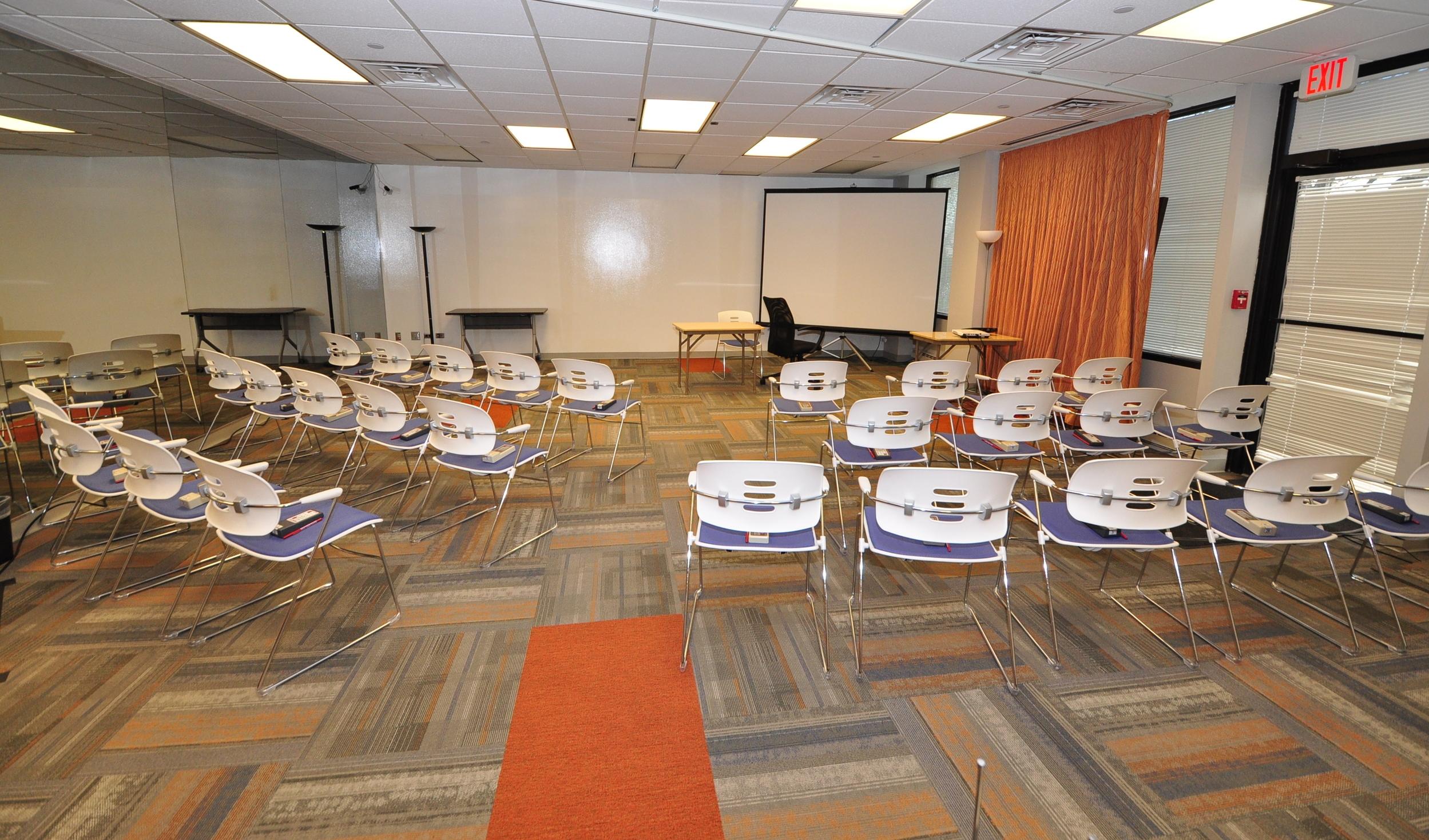 Audience Single Room Seats 30-35