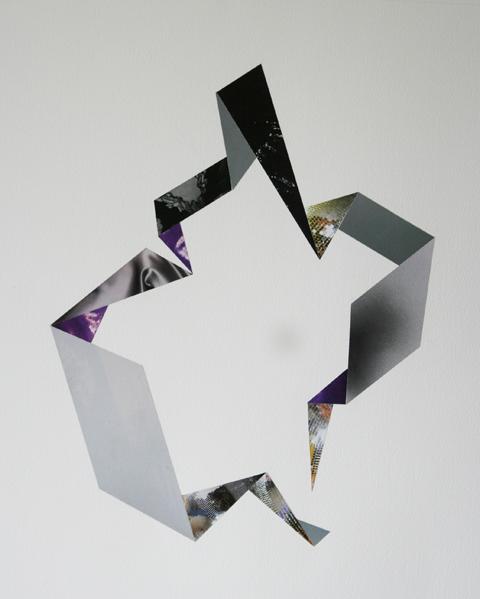 L.Sanchez Flappers and Philosophers Collage 01, 32 x 50cm, 2010 £500