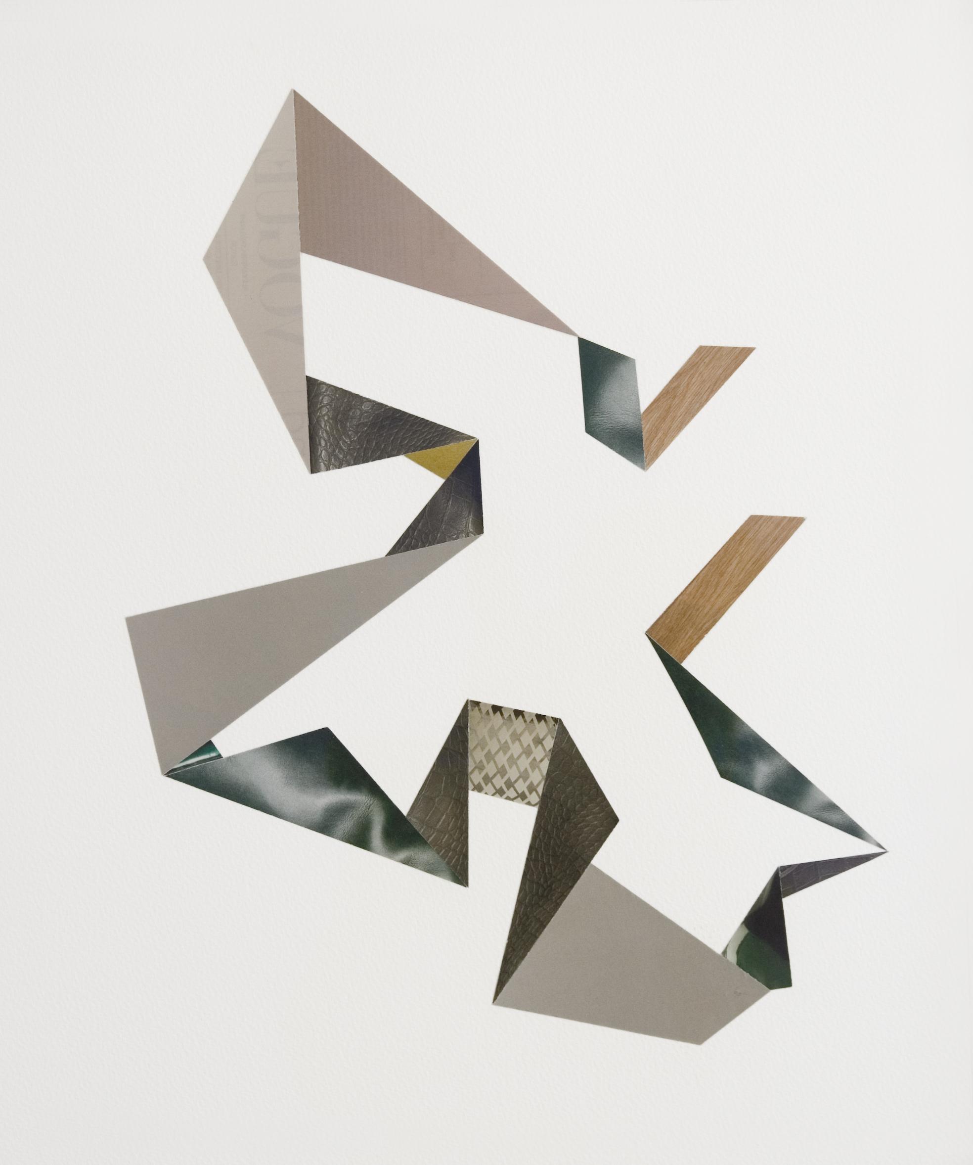 L.Sanchez Collage 45 x 50cm, (2010) £650