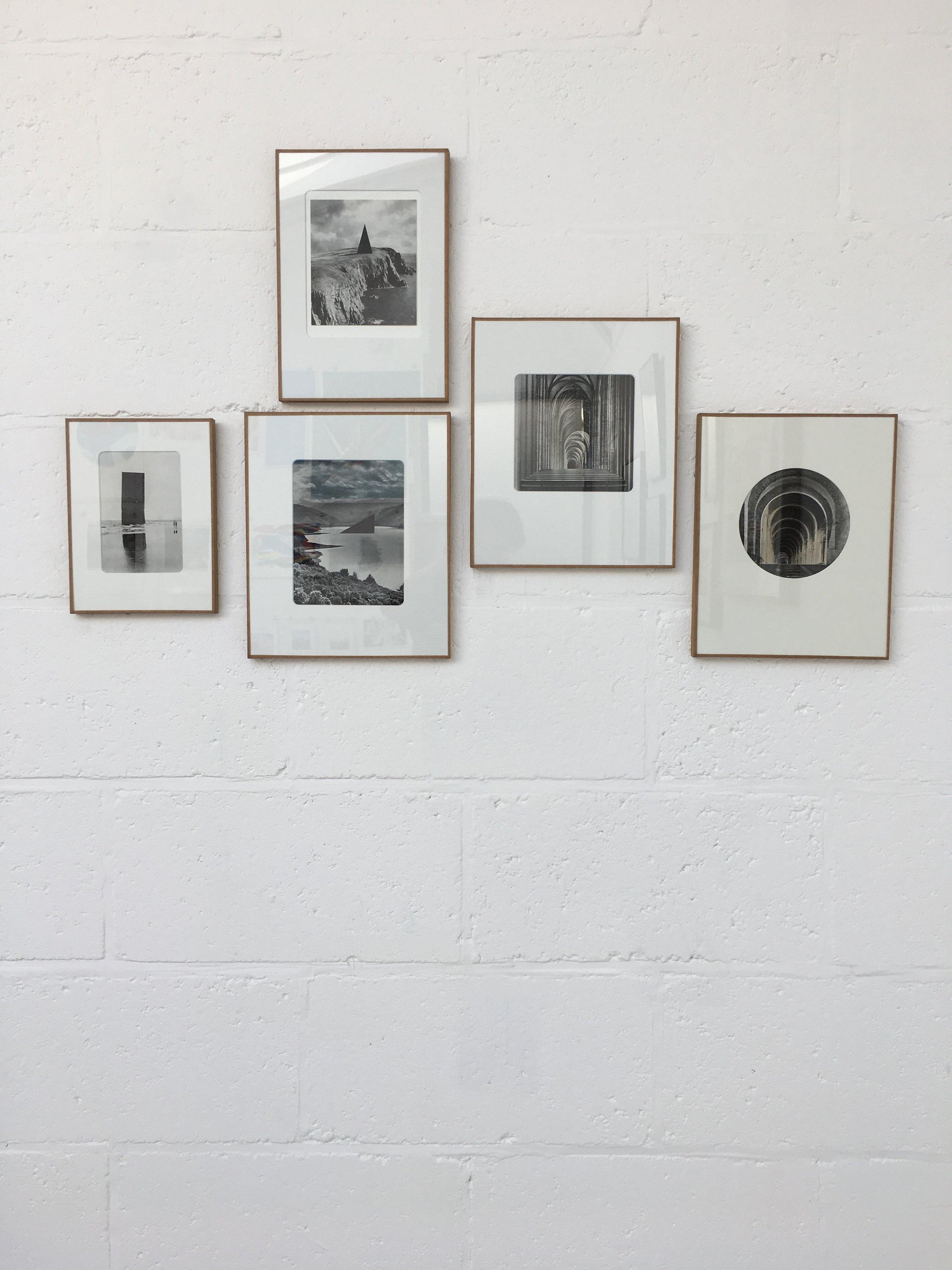 "Fernando Martin Godoy/ ""CONSTRUCTION TIME AGAIN"" original collages"