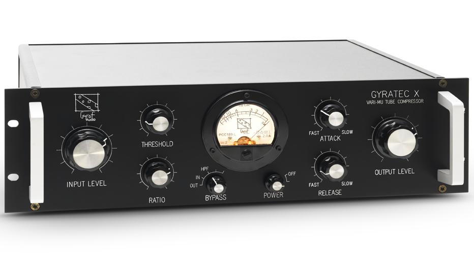 Gyratec X: Stereo Vari-Mu Compressor (G10)
