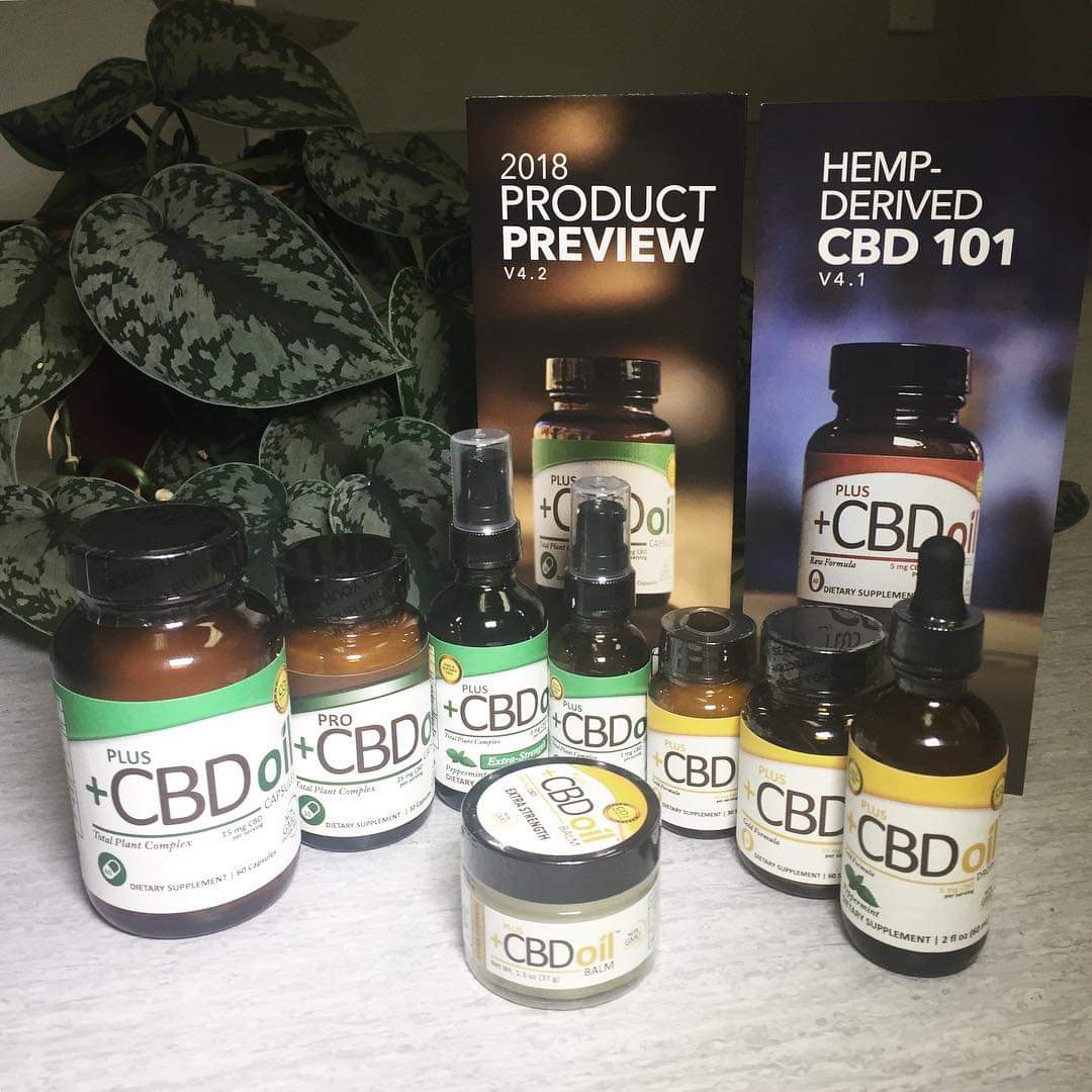We offer a full line of CBD products from CV Sciences