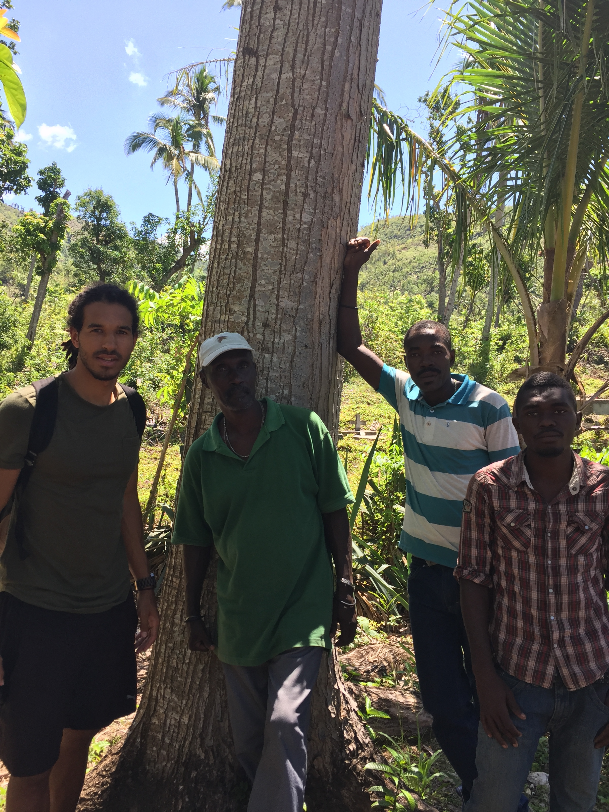 I had the opportunity to meet with many locals and see the progress of past projects in the area. This tree is one of the first planted by TheHaitiTreeProject.org about 10 years ago. Imagine if we could have 1000 trees from our nursery this size in 10 years!