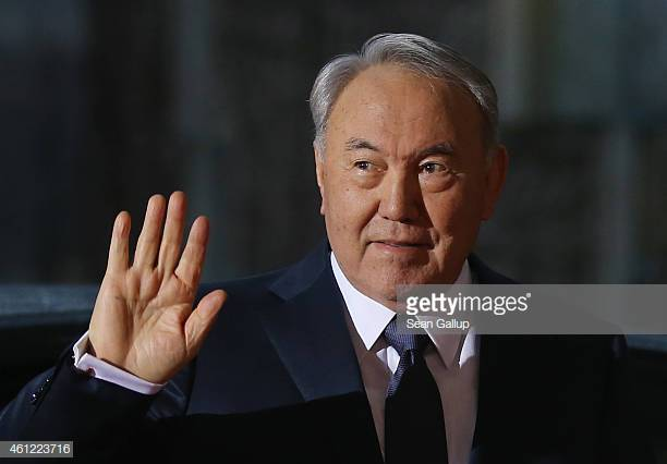 Kazakhstan President Nazarbayev  Photo by Sean Gallup/Getty Images News / Getty Images