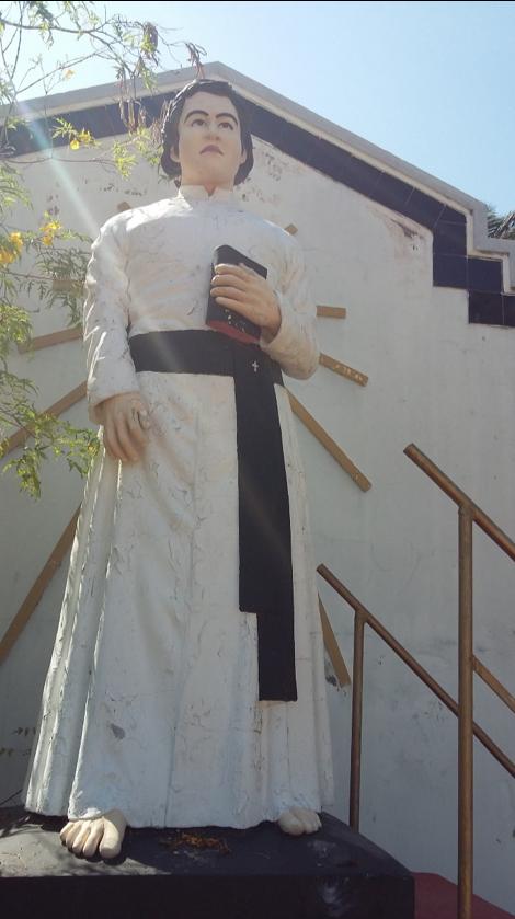 Father Bastian's statues in Mannar  Photos: Dishani Senaratne