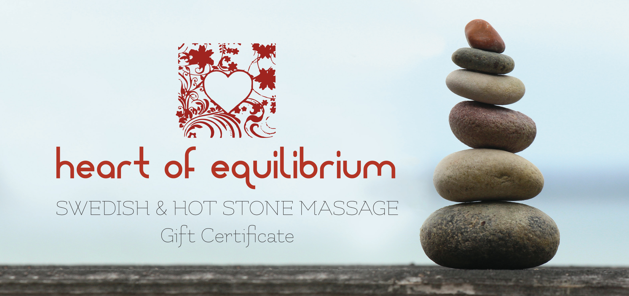 Gift Certificate Massage Front.
