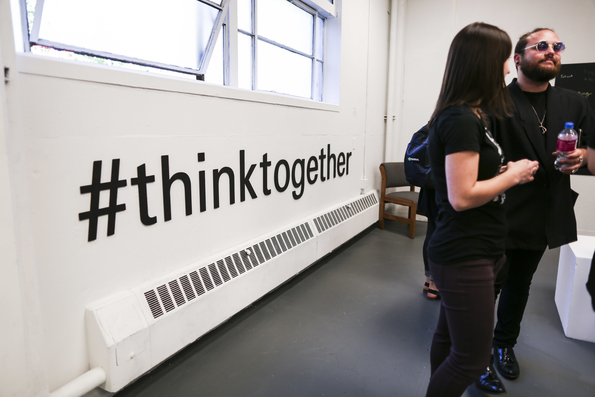 #Think Together For Progress  - laser cut foamcore