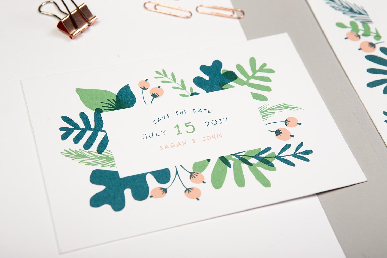 foliage invite