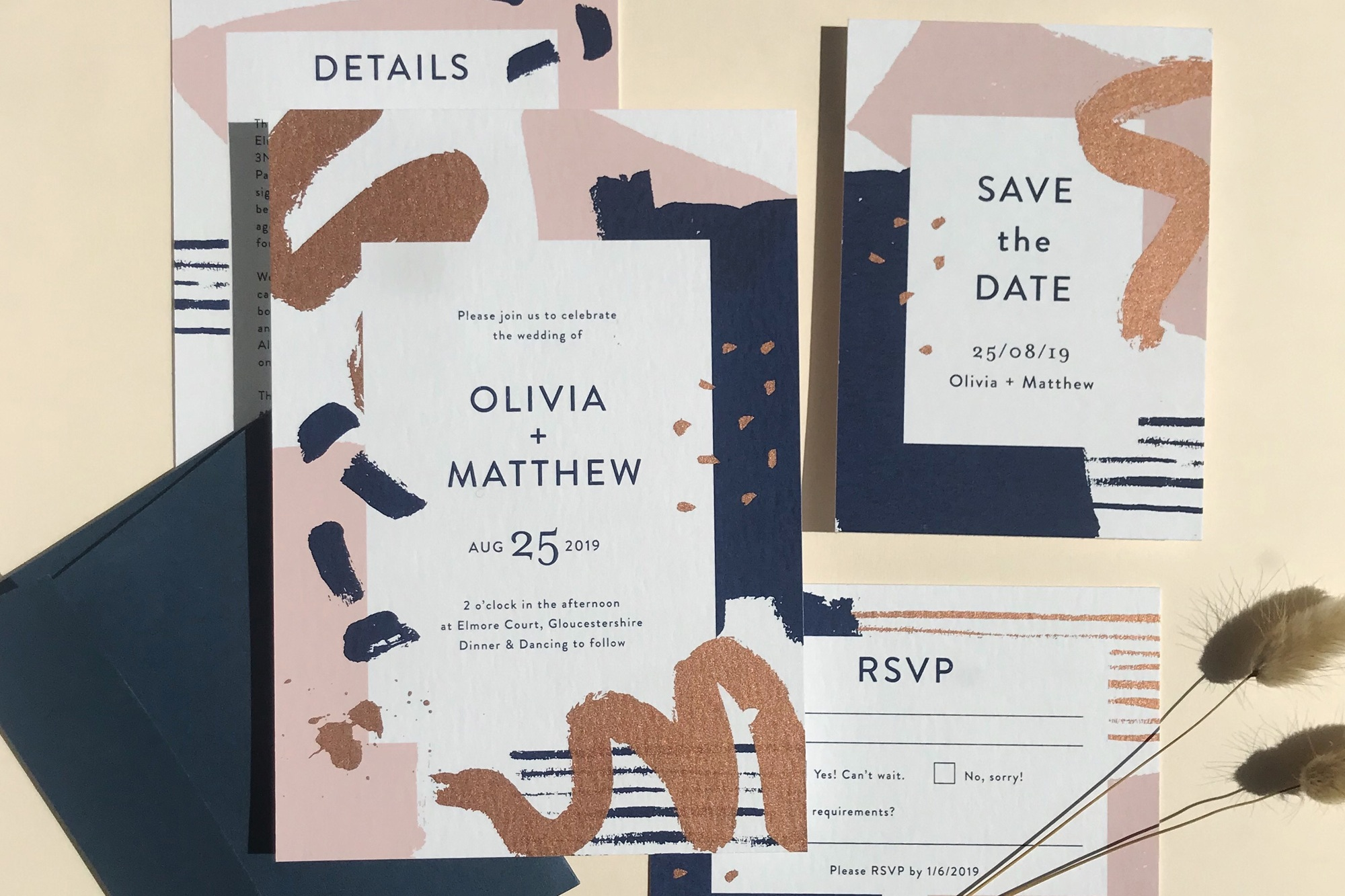 high quality wedding stationery