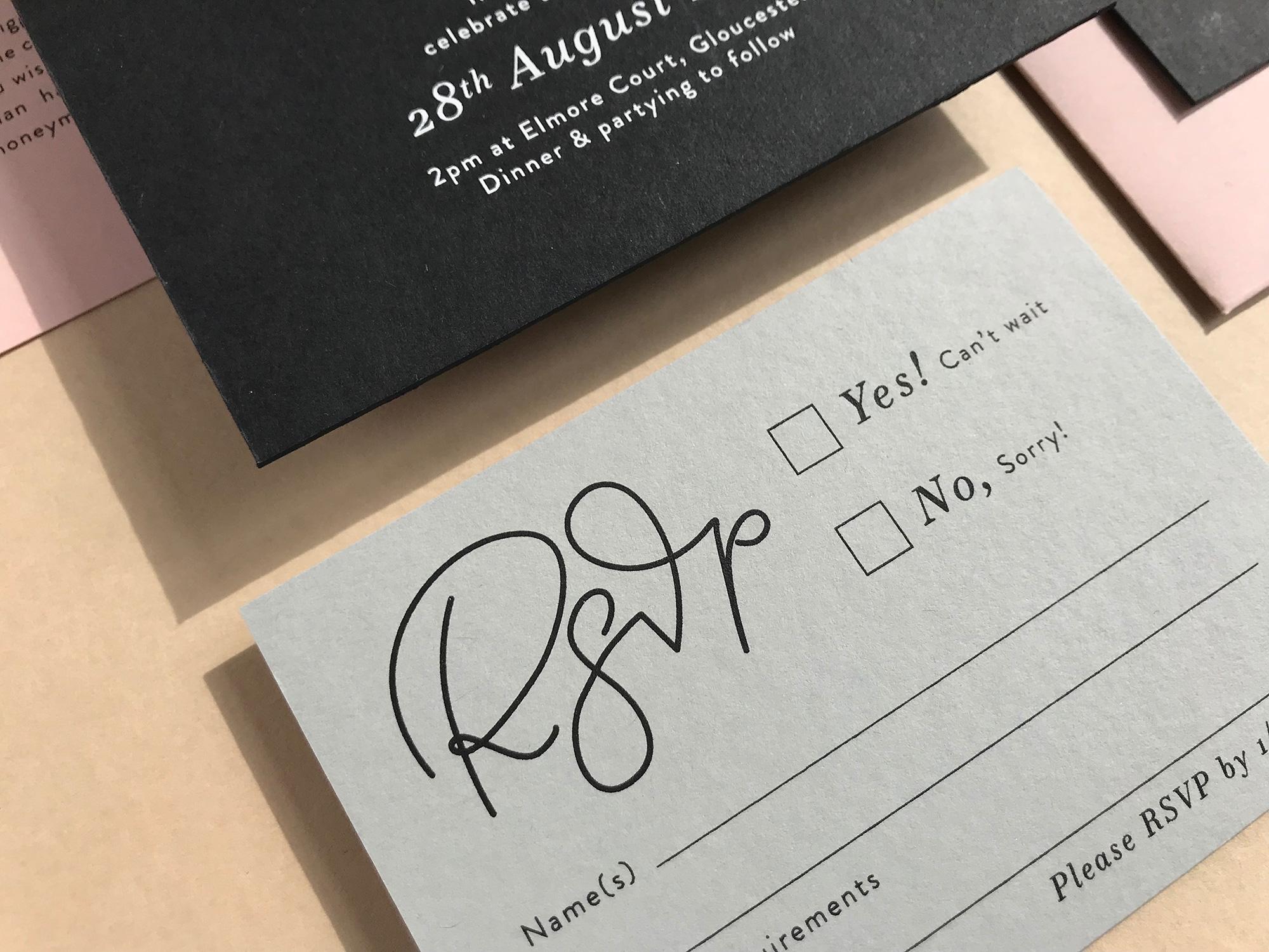 quality wedding invitations bristol